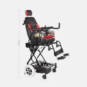 seat height adjustable max 165cm